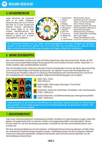 Neuland Broschüre Vorschau Seite 2